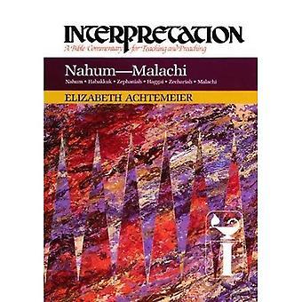 Nahum Malachiasza (interpretacja Komentarze biblijne)