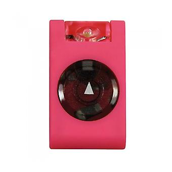 Mighty Bright LED Utility Light Rubber Clip On  Keyring Safety Light Pink
