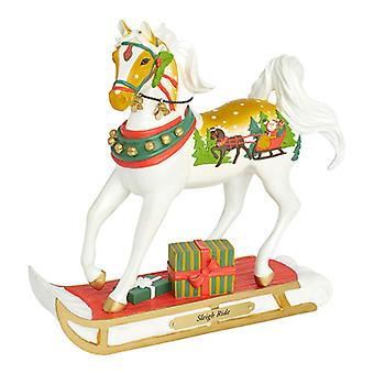 Gemalte Ponys Weihnachtsfiguren