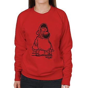 Grimmy Monk Women's Sweatshirt