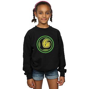 Marvel Girls Loki Symbol Sweatshirt