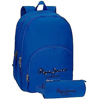 Pepe Jeans Harlow rugzak-42 cm-19,44 liter-blauw (Azul)