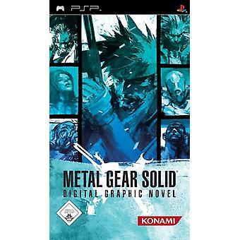 Metal Gear Solid Digital grafisk roman (PSP)-ny