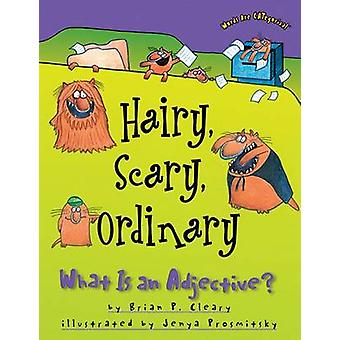 Hairy - Scary - Ordinary - What Is an Adjective? by Brian P Cleary - J