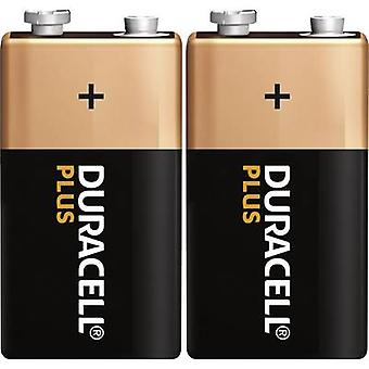 Duracell Plus 6LR61 9 V / PP3 battery Alkali-manganese 9 V 2 pc(s)
