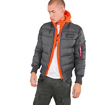 Alpha Industries Men's Winter Jacket MA-1 D-Tec Buffer FD