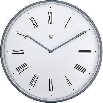 nXt - Wall clock - Ø 40 cm - Plastic - White - 'Duke'