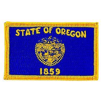 التصحيح Ecusson برود العلم أوريغون Thermocollant الولايات المتحدة الأمريكية الأمريكية