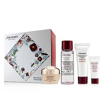 Benefiance Wrinkleresist24 Set : Day Cream Spf15 50ml+cleansing Foam 15ml+softener 30ml+ultimune Concentrate 5ml - 4pcs
