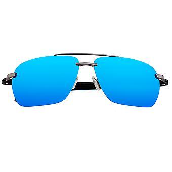 Simplify Lennox Polarized Sunglasses - Gunmetal/Blue
