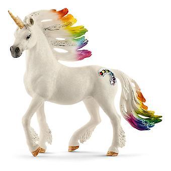 Schleich Bayala Rainbow Unicorn Stallion Horse Toy Figure (70523)