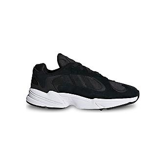Adidas - Shoes - Sneakers - CG7121_YUNG-1 - Unisex - black,white - UK 11.5