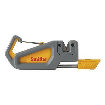 Smith's Abrasives Pack Pal Knife Sharpener + Fire Starter + Whistle #50538