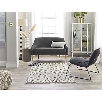 Maison 7721a Blanc Lt.Grey Rectangle Rugs Plaine /Presque Plaine Rugs