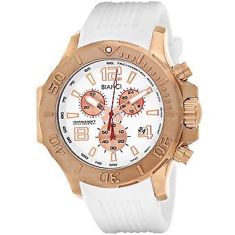 Roberto Bianci Men's Aulia Weißes Zifferblatt Uhr - RB55054