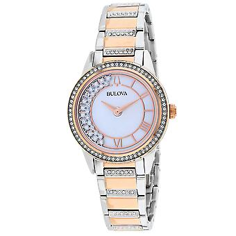 Bulova Women's TurnStyle Mother of Pearl Dial Watch - 98L246