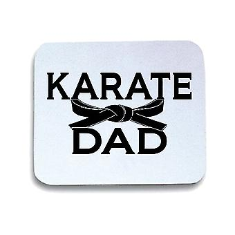 Tappetino mouse pad bianco wtc1312 karate dad