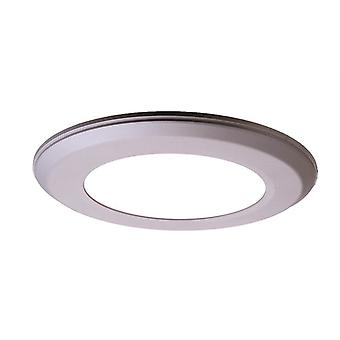 Led ceiling lamp Flat 6 6W 4000K dimmable dia. 118mm silver