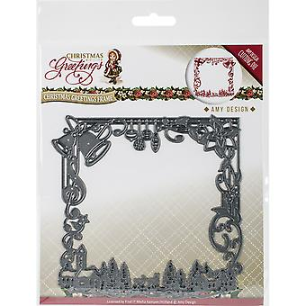 Find It Trading Amy Design Die-Christmas Greetings