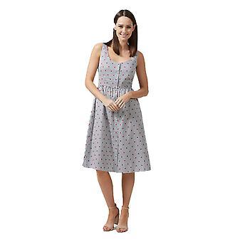 Sugarhill Boutique naisten ' s raita ja sydän tulosta Beatrice mekko