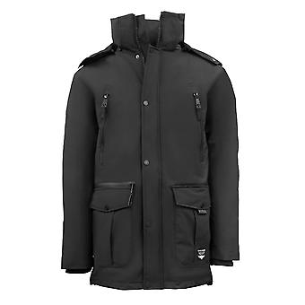 Top Gun Parka Jacket Black