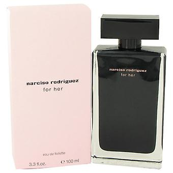 Narciso rodriguez eau de toilette spray by narciso rodriguez   420250 100 ml
