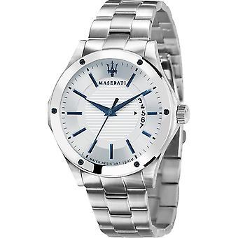 Maserati R8853127001 Herren's Circuito Weißes Zifferblatt Armbanduhr