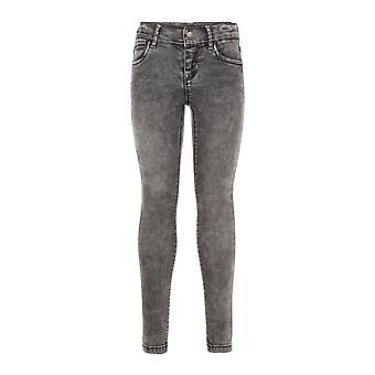 Nom It Gray filles jeans POLLY Dnmtora Dark Grey