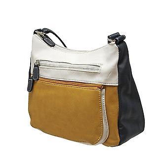 Envy Bags Millie Multi Scoop Top Bag - Mustard