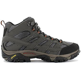 Merrell Moab 2 MID GTX J06059 Men's Hiking Shoes Olive Sneakers Sports Shoes