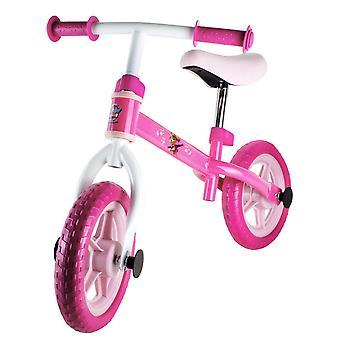 Paw patrulje cykel med justerbar sæde pink/hvid (OPAW043-F)