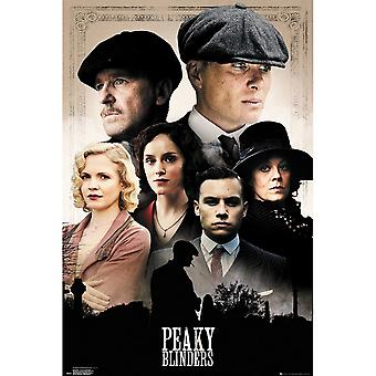 Peaky Blinders Cast Maxi Poster