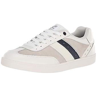 Original Penguin Mens OP100637M Leather Low Top Lace Up Fashion Sneakers