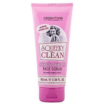 Creightons Squeeky Clean Scrubaholic Face Scrub 100ml
