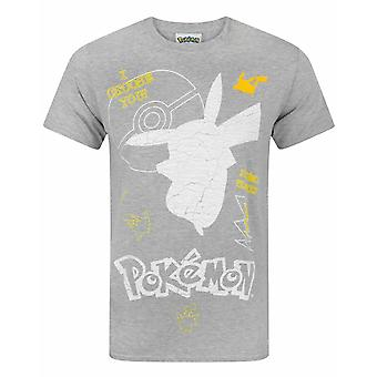 Pokemon Pikachu I Choose You Men-apos;s T-Shirt