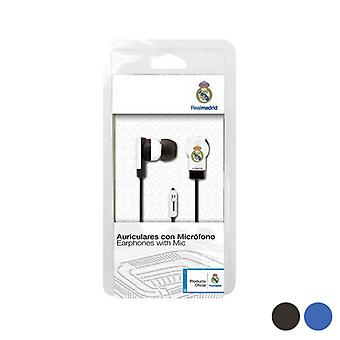 In ear headphones Real Madrid C.F./Black