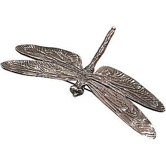 Pewter Dragonfly Sjaal Ring Extra Groot door Ladycrow Schotland