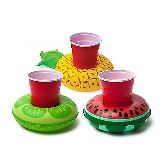 BigMouth Inc. Tropical Fruits Inflatable Beverage Boats