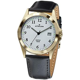 ATRIUM Men's Watch Wristwatch Analog Quartz A18-20 Leather