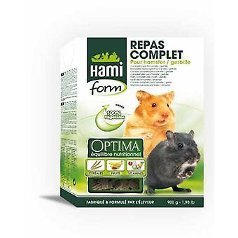 ハミ ハムスター (小さなペット、乾燥した食糧と混合物) の完全な食品のフォーム