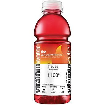 Vitamin Water Fire -( 591 Ml X 12 Bottles )