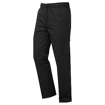 Premier Unisex Adults Chefs Essential Cargo Pocket Trousers