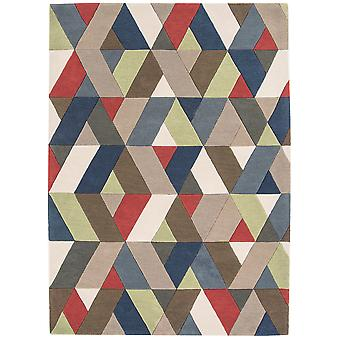 Funk Chevron multicolore tapis