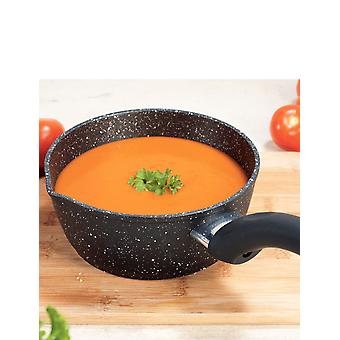Blackmoor Blackmoor 66120 16cm Non-Stick Milk Pan, Black