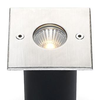 Cree LED grondspot Trofa | warmwit | 5 watt | vierkant