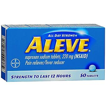 Aleve all day strong pain reliever fever reducer, tablets, 50 ea