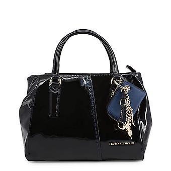 Trussardi الأصلي المرأة طوال العام حقيبة اليد - اللون الأزرق 48980