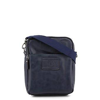 Carrera Jeans Originele Heren Lente/Zomer Crossbody Tas - Blauwe Kleur 33227