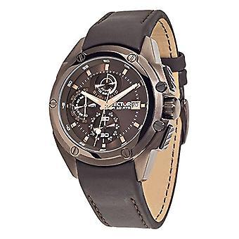 Sector No Limits analog quartz leather strap R3271981001 Man