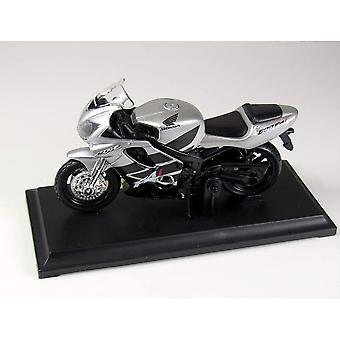 Maisto Special Edition Motorrad 1:18 Honda CBR600F41 Silber